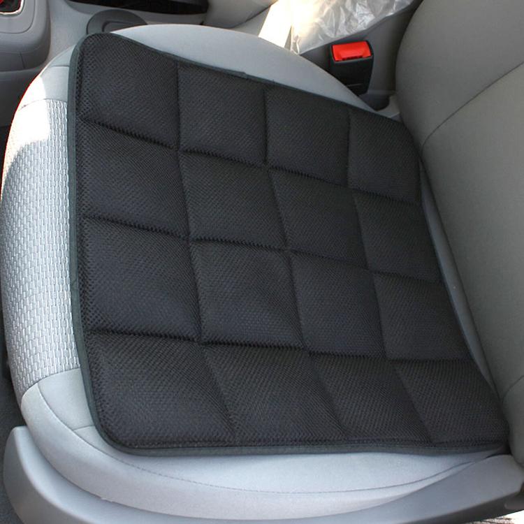 维康加厚型竹炭防滑椅垫 环保座垫 汽车坐垫 四季坐垫 黑色