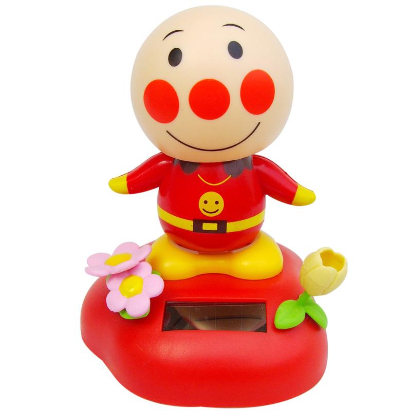 站姿小丑--笑脸太阳能摇头公仔(大号全身动)