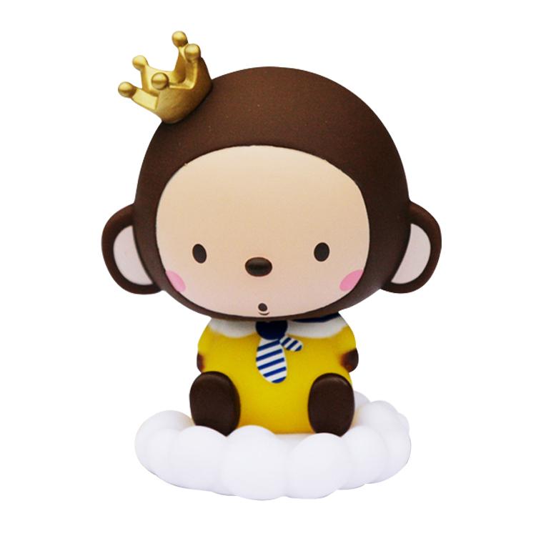 可爱创意车载摇头娃娃 车内饰品玩偶摆件 单个 momo男乖乖款 升级版