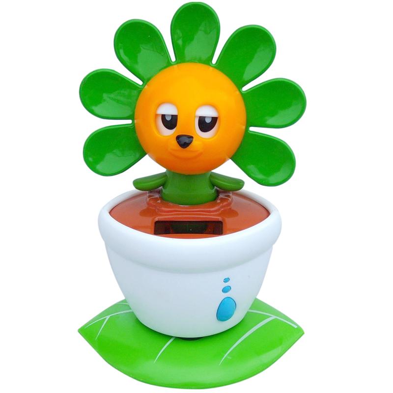 太阳花,汽车饰品,; 出售太阳能礼品 太阳能玩具 卡通太阳能娃娃 太阳