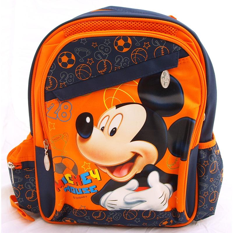 文具配件-米奇儿童双肩书包