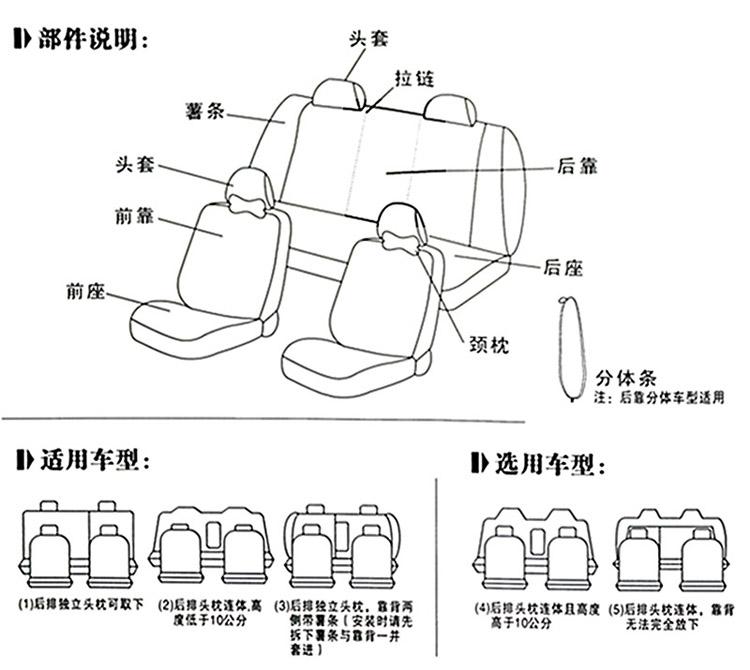 大众polo/朗逸四季通用座椅套/汽车座套
