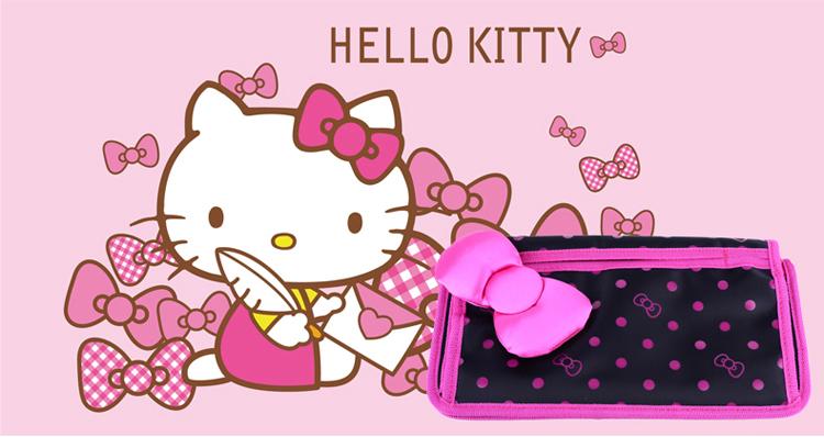 凯蒂猫 蝴蝶简笔画