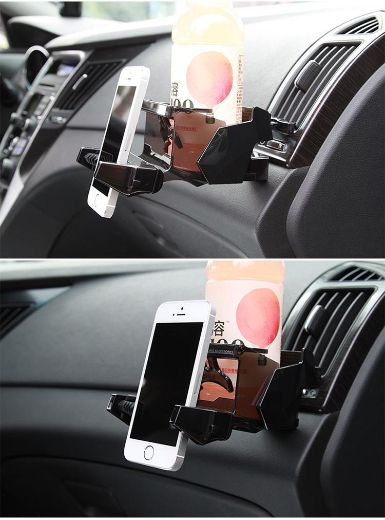 yac 车载手机支架 出风口 车用手机座 汽车多功能  pz